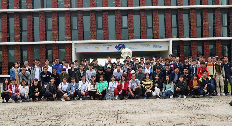 Sinh viên ĐH Tin - K9 trải nghiệm tại FPT SoftWare