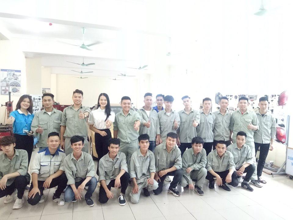 Sinh viên ngành Ô tô - Trường Đại học Thành Đô