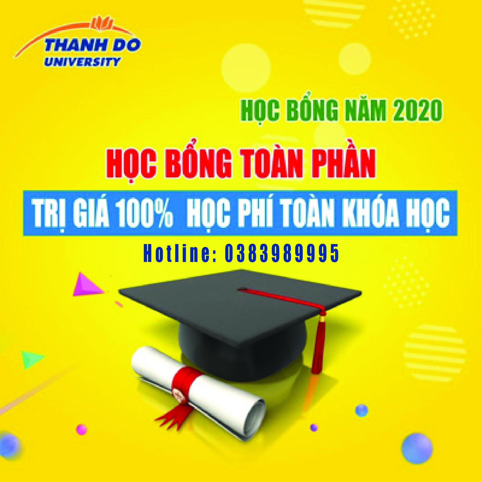Học bổng năm học 2020