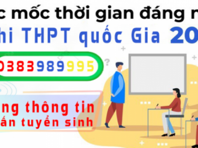 Chi tiết các mốc thời gian cần lưu ý trong kỳ thi THPT quốc gia 2020