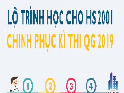4 giai đoạn quan trọng ôn thi THPT Quốc Gia 2019